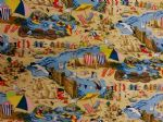 SEASIDE - BY THE SEA - Fabric 100% Cotton - Price Per Metre